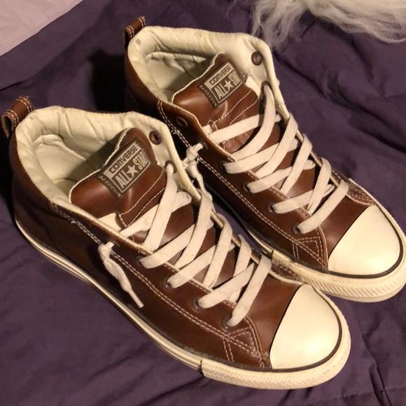 Converse Shoes | Mens Leather Converse